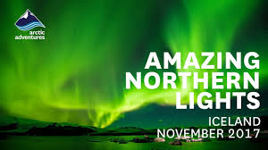 northern lights iceland november amazing northern lights in iceland november 2017 youtube