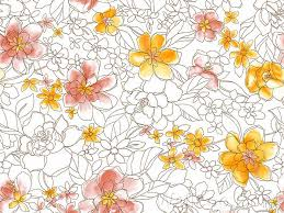 pattern illustration tumblr flower patterns drawing at getdrawings com free for personal use