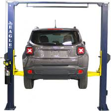 Low Ceiling 2 Post Lift by 2 Post Car Lifts Eagle Equipment
