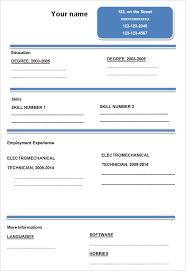 resume format blank 45 blank resume templates free sles exles format