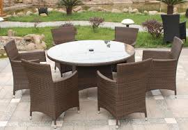 Rattan Dining Room Chairs Country Rattan Dining Sets Outdoor For Garden With Round Table