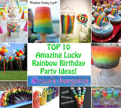 Rainbow Themed Birthday Favors by Rainbow Ideas Top 10 For Birthday Schools And