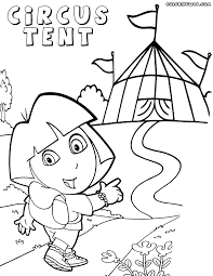circus coloring pages coloring pages to download and print