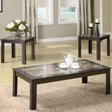 Glass Living Room Table Sets Black Oak Rectangular Coffee Table V Modern End Tables Baltimore
