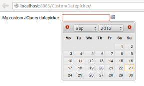 format date javascript jquery 16 an exle of integration with javascript 6 x