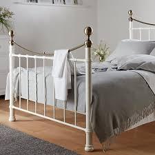 buy john lewis jayne brass metal bed frame double john lewis