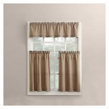 Black Ticking Curtains Kitchen Curtains U0026 Bathroom Curtains Jcpenney