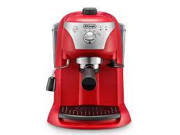delonghi magnifica red light de longhi traditional pump espresso coffee machine ecc221 r amazon