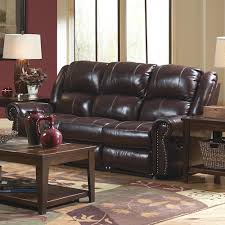 Catnapper Power Reclining Sofa Catnapper Livingston Power Reclining Sofa With Drop Table And