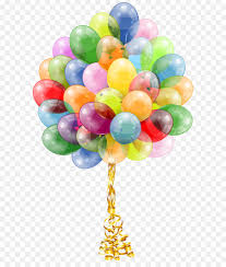 bunch of balloons balloon birthday cake party gift transparent balloons bunch