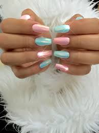 powdered sugar collection chrome nails fairy dust and mermaid