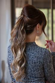 hairstyles for black tie event half up hairstyles with ombre extensions frontrow