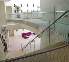 Glass Banisters For Stairs Glass Railings Glass Texas Commercial U0026 Residential Glass Repair