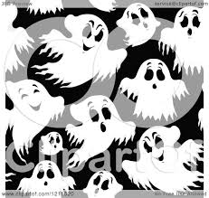 halloween bat repeating background cartoon of a seamless black and white halloween ghost pattern