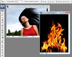 tutorial photoshop cs3 videos how to create a flaming photo manipulation