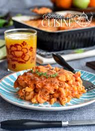 cuisine tunisienne pate au thon gratin de pates au thon amour de cuisine