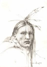 photos american indian sketches drawing art gallery