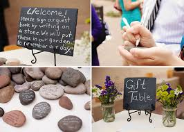signing rocks wedding guest book groom magazine guestbook archives