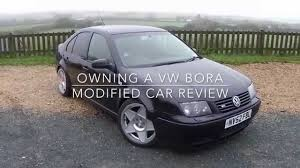 volkswagen bora 2002 owning a vw bora modified car review youtube