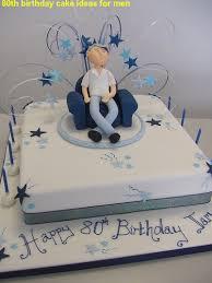 80th birthday cake ideas for men 281 29 jpg 375 500 bolos