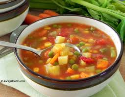 an expat cooks homemade vegetable soup