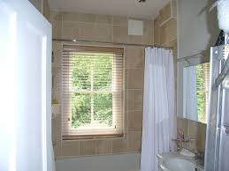 Windows In Bathroom Showers Bathroom Shower Window Blinds Shades Curtains With Regard To