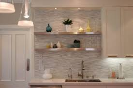 endearing stone kitchen backsplash with white cabinets