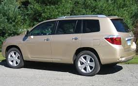 2010 toyota highlander tires toyota highlander to choose a replacement tire