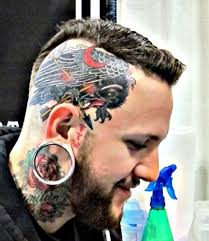 head and neck cool tattoos for men styles time