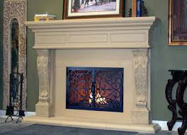 Elegant Mantel Decorating Ideas by Decorating Fascinating Fireplace Mantel Kits Design For Your
