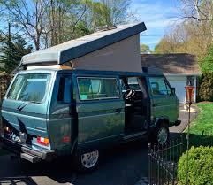 volkswagen vanagon camper 1987 vw vanagon westfalia camper w gowesty 2 2l engine auction
