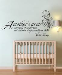 inspirational quotes wall decals stickers vinyl wall decal sticker mother arms quote