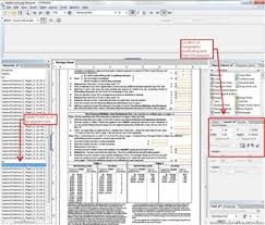 adobe livecycle designer how do i align field boxes in a pdf document using adobe designer