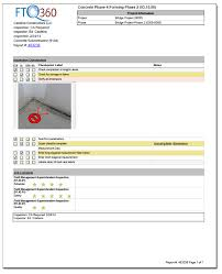 daily inspection report template issues log template fieldstation co