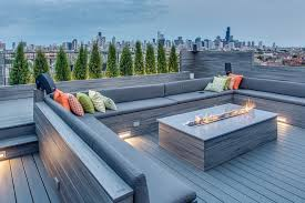 Modern Firepits Contemporary Pits Deck Contemporary With Composite Modern
