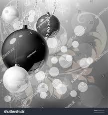 black white silver background stock vector 65046160