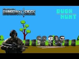 siege mini rainbow six siege mini glaz duck hunt