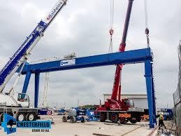 crane installations archives chesterfield crane company