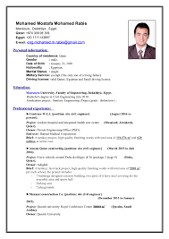 career objective in resume for civil engineer civil engineer mohamed mostafa cv
