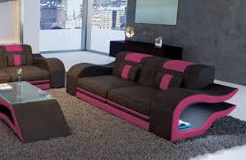 sofa mit beleuchtung 2sitzer hermes hochwertiges ledersofa bei nativo designermöbel kaufen