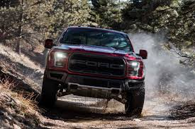 Pink Ford Raptor Truck - dodge challenger hellcat and ford f 150 raptor race around over a