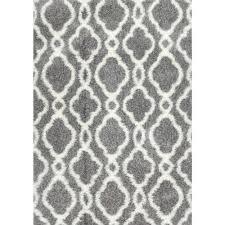 nuloom sylvia shag white 8 ft x 10 ft area rug ozps01a 8010