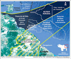 Venezuela Map Venezuela Makes New Claim To Guyana U0027s Territorial Waters