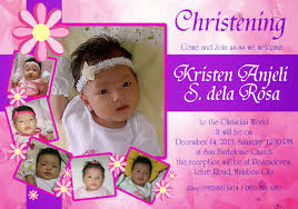 Designing Invitation Cards Invitation Card Design For Christening Festival Tech Com