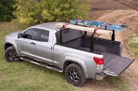Ford Ranger Truck Bed Dimensions - 1994 2014 ford ranger hard folding tonneau cover rack combo
