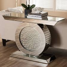 Mirror Console Table Wholesale Interiors Baxton Studio Philippa Regency