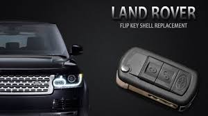 land rover flip key change youtube