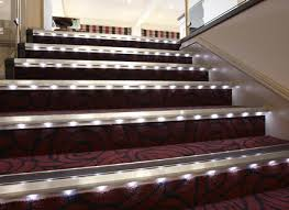 Stair Lighting Fabulous Led Step Lighting And Stair Lighting Indoor And Outdoor