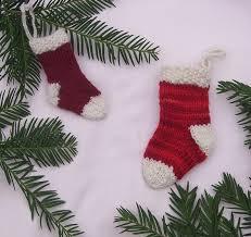 mini ornament knitting patterns and crochet patterns