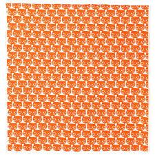 Ikea Tessuti Metraggio by Ikea Al Metro Mattram Gatti Arancione Larghezza 150 Cm 1 M